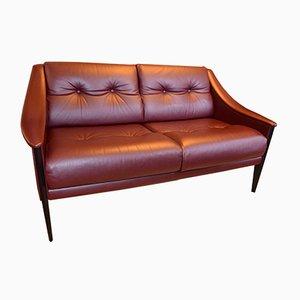 Vintage Italian Dezza Two-Seater Sofa by Gio Ponti for Poltrona Frau