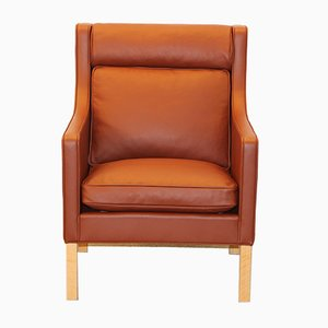Danish Model 2431 Easy Chair by Børge Mogensen for Fredericia Furniture
