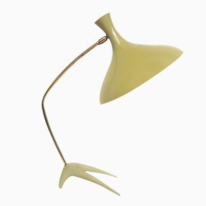 Niederländische Dreibein Krähenfuß Schreibtischlampe von Louis Kalff für Philips, 1950er