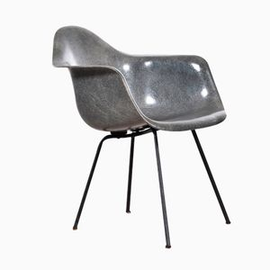 Elephant Grey American SAX Zenith Rope Standard Chair by Charles & Ray Eames for Herman Miller, 1950s