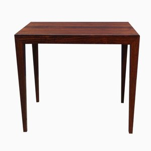 Mid-Century Danish Rosewood Coffee Table by Severin Hansen Jr. for Haslev, 1960s