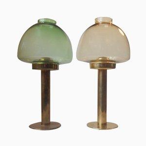 L 102/32 Kerzenständer von Hans-Agne Jakobsson, 1950er, 2er Set
