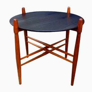 Mid-Century Danish Teak & Formica Side Table by Poul Hundevad for PJ Furniture, 1960s