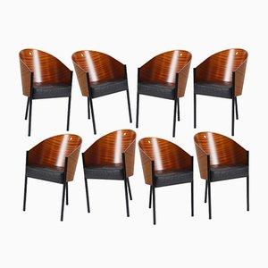 Chaises Costes par Philippe Starck pour Driade, 1984, Set de 8