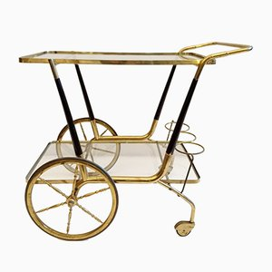 Chariot de Bar Mid-Century par Cesare Lacca, Italie