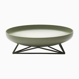 Steel Vessel medio verde oliva di Max Lipsey per TH MANUFACTURE