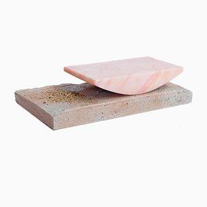 Molinillo para pimienta Heikō de piedra y mármol de Laetitia De Allegri and Matteo Fogale