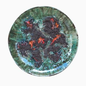 Lava Hanging Plate from Glit Iceland, 1970s