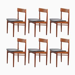 Mid-Century Danish Chairs by Rosengren Hansen for Brande Mobelfabrik, Set of 6