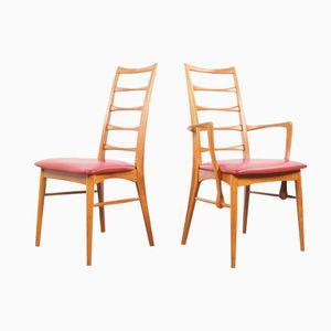 Mid-Century Danish Chairs by Niels Koefoed for Hornslet Mobelfabrik, 1960s, Set of 8