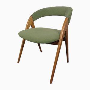 Beech Chair in Green, 1960s