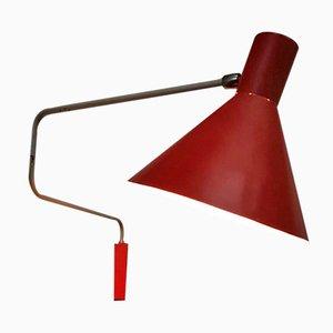 Elbow Wandlampe von J.J.M. Hoogervorst für Anvia, 1950er