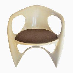 Casalino Kunststoff Sessel von Alexander Begge für Casala, 1974