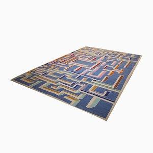 Vintage Labyrinth Teppich von Gio Ponti
