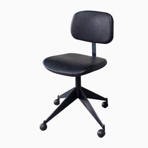 Chaise de Bureau Vintage par Velca Legnano pour Jules Wabbes