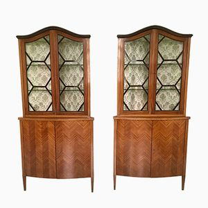 Commodes d'Angles, 1940s, Set de 2