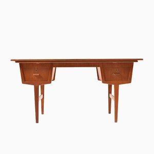 Mid-Century Danish Extendable Teak Desk