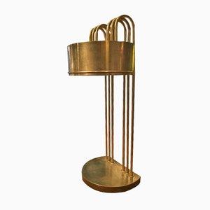 Lampada da scrivania placcata in nichel di Marcel Breuer, anni '20
