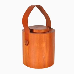 Teak Ice Bucket by Jens H. Quistgaard for Nissen, 1960s