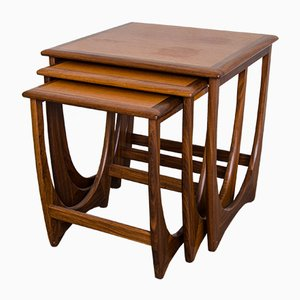 Astro Nesting Tables by Kai Kristiansen for G-Plan, 1960s