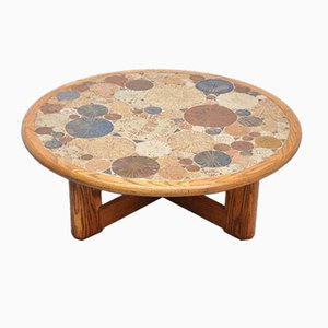 Mid-Century Mosaic Coffee Table by Tue Poulsen for Haslev Denmark