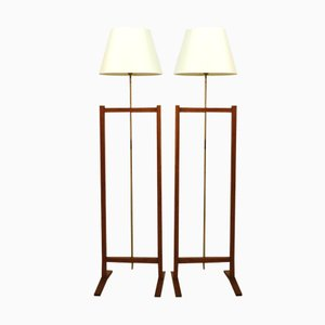 Floor Lamps by Josef Frank for Svenskt Tenn, 1960, Set of 2