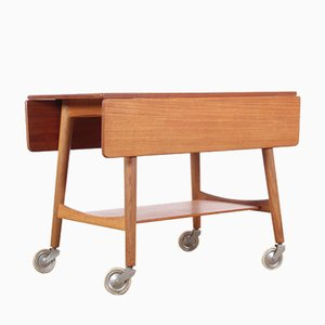 Mid-Century Occasional Table by Hans Wegner for Andreas Tuck