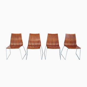 Tönnestav Dining Chairs by Kjell Richardsen for Tynes Møbelfabrik, 1960, Set of 4