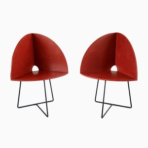 Modern Bucket Chairs by Chen Chen & Kai Williams, Set of 2