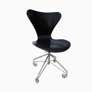 3117 Stuhl von Arne Jacobsen für Fritz Hansen, 1980er