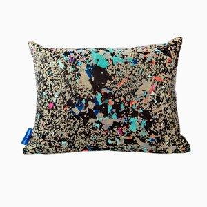 Black Multi Crystalline Rectangular Cushion from Other Kingdom