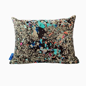 Coussin Noir Multi Crystalline Rectangulaire de Other Kingdom