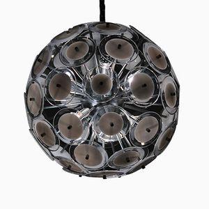 Vintage Sputnik Style Pendant Lamp