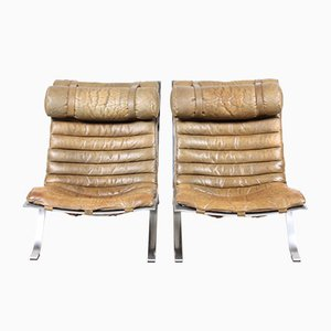 Vintage Ari Lounge Chairs by Arne Norell, Set of 2