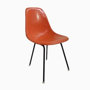 DSX Chair in Orange by Charles & Ray Eames for Vitra