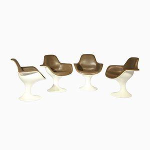 Orbit Chair by Farner & Grunder for Herman Miller, 1970s, Set of 4