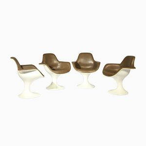 Orbit Sessel von Farner & Grunder für Herman Miller, 1970er, 4er Set