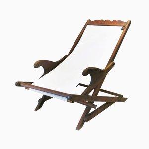 Chaise de Bureau Vintage, Portugal, 1930s