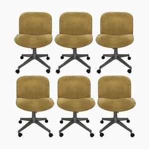 Office Chairs by Ico Parisi for MIM, 1960s, Set of 6
