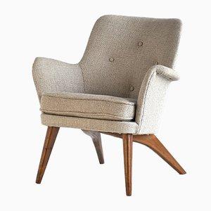 Vintage Armchair by Carl Gustav Hiort af Ornäs for Helsingin Puunveisto Oy