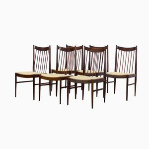 Model 422 Dining Chairs by Arne Vodder for Sibast, 1960s, Set of 6
