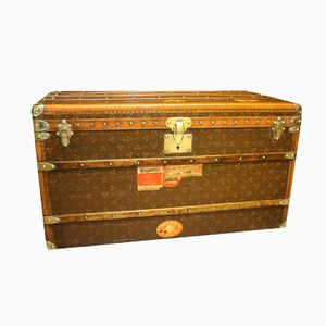 French Steamer Trunk from Au Touriste Paris, 1930s