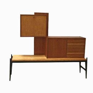 Barschrank von Jos de Mey für Luxus, 1950er