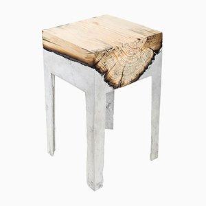 Bout de Table Wood Casting™ par Hilla Shamia