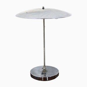 Lampe de Table Mid-Century en Chrome par Hala Zeist, Pays-Bas, 1960s