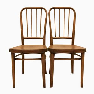 Vintage Model A 63 Chairs by Josef Frank for Thonet, Set of 2