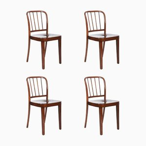 Dining Armchairs by Josef Frank for Thonet, 1930s, Set of 4