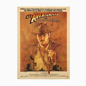 Affiche de Film Raiders of the Lost Ark par Richard Amsel, 1981