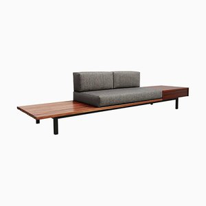 Mid-Century Cansado Bench by Charlotte Perriand