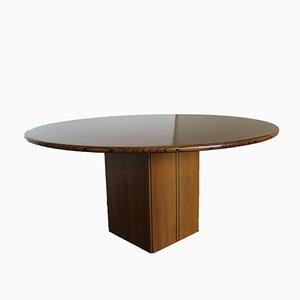 Runder Vintage Tisch von Afra & Tobia Scarpa für Maxalto